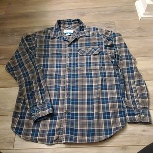 Mens columbia Button Down Sz S